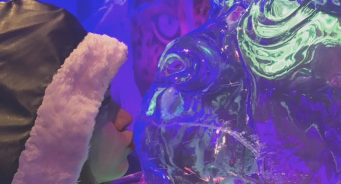 Visit to London Icebar