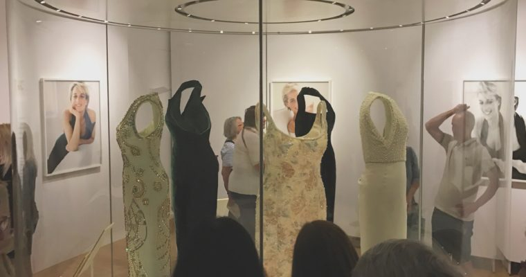 Diana's dresses in Kensington Palace
